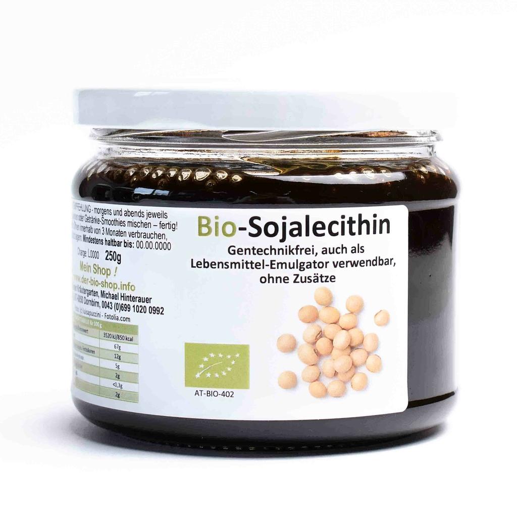 Lecithin Lebensmittel Bio, 250 gr | kaufen